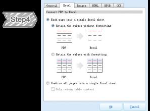 Definir o formato de documentos de saída
