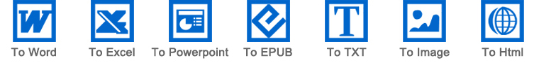 converter documentos de PDF de vários formatos