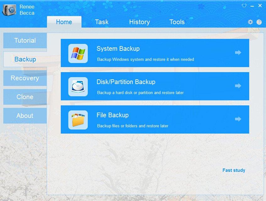 Renee Bacca-software de backup gratuito