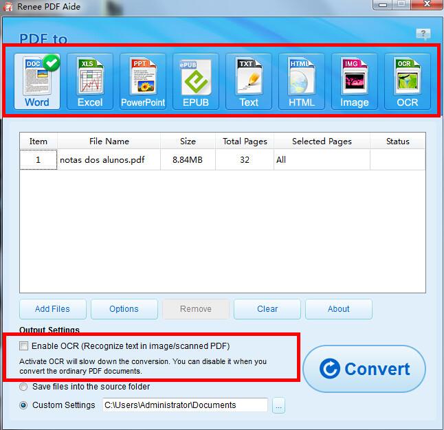 Converter PDF em Word 2010 passo 2