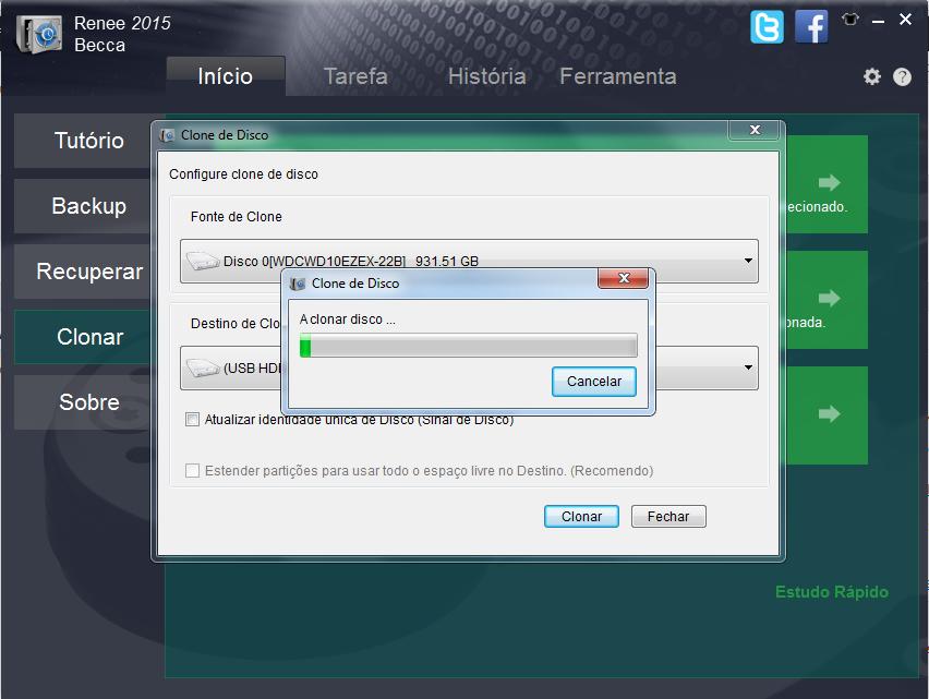 clonar um hd no Windows 8.1 e 8