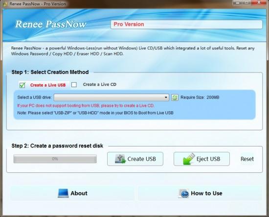Criar um CD ou USB inicializável