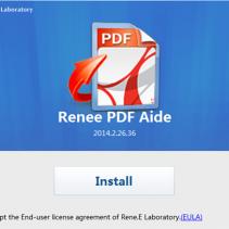 Instalar Renee PDF Aide para Converter PDF em Word 2010