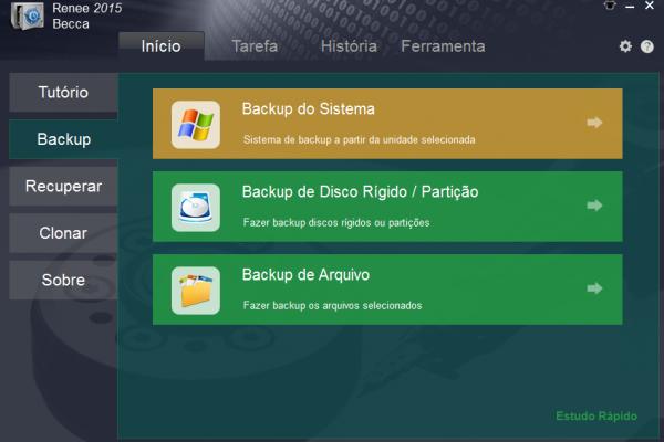 Fazer backup Windows 7