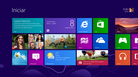 remover a conta do Microsoft Windows 8
