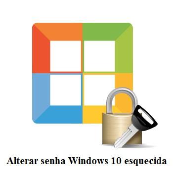 Alterar a senha do Windows 10