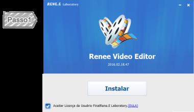Instalar Renee Video Editor