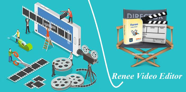 Fazer edição de vídeo com Renee Video Editor