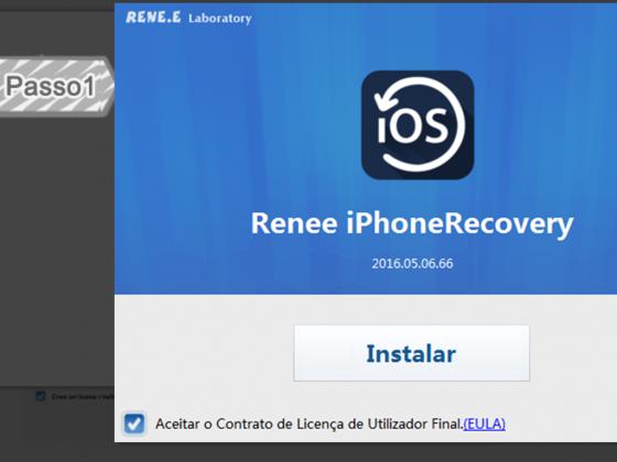 Instalar Renee iPhone Recovery