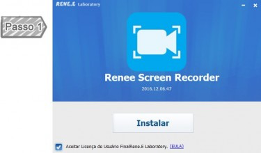 Instalar Renee Screen Recorder