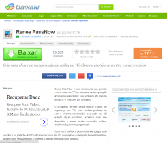 Baixaki – Renee PassNow