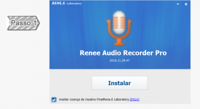Instalar Renee Audio recorder Pro