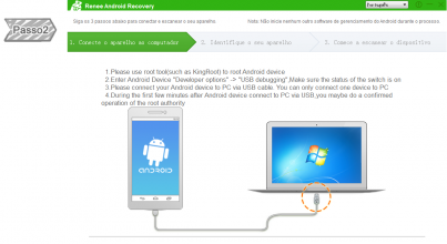 Executar Renee Android Recovery