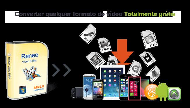 Conversor de vídeo gratuito