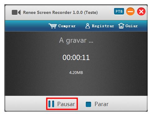 pausar