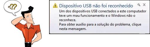 O pen drive não reconhece no PC