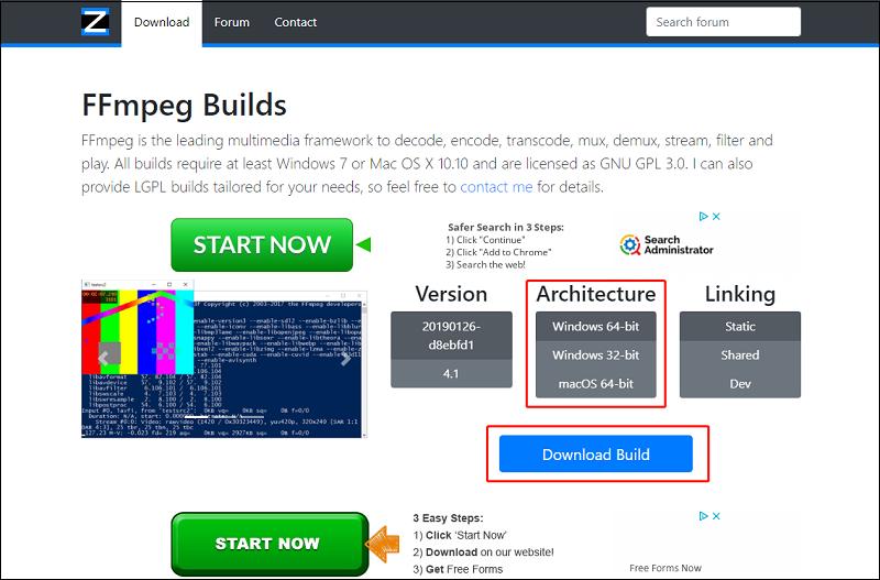Download windows build