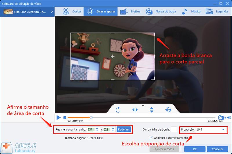 três modos para cortar vídeos