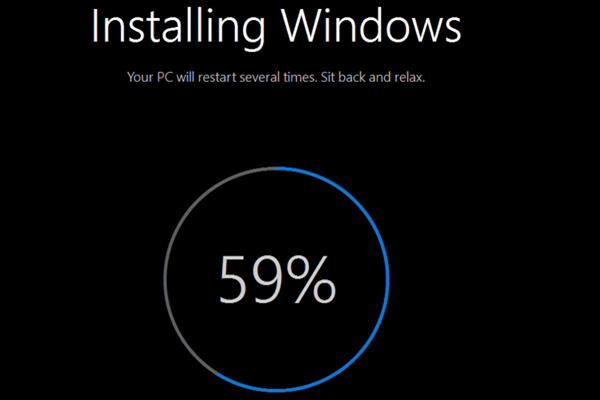 Acer installin windows