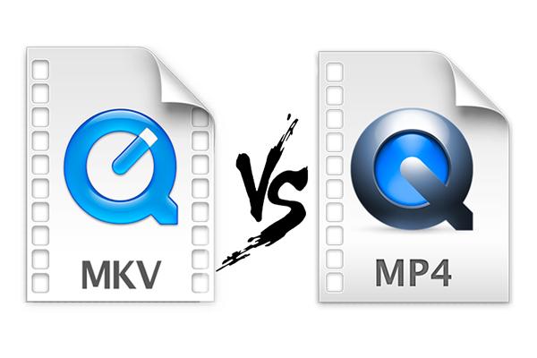 formato de MKV ou MP4