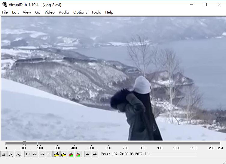 programa VirtuualDub para cortar vídeo