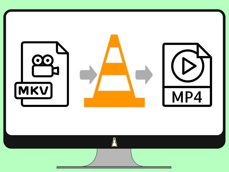 Converte MKV para MP4 com VLC