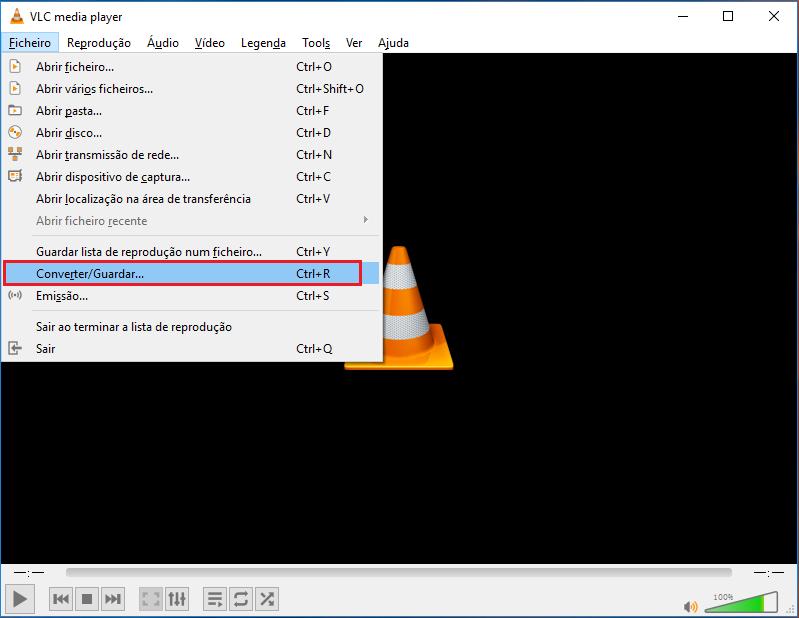 Converter arquivo MKV com VLC