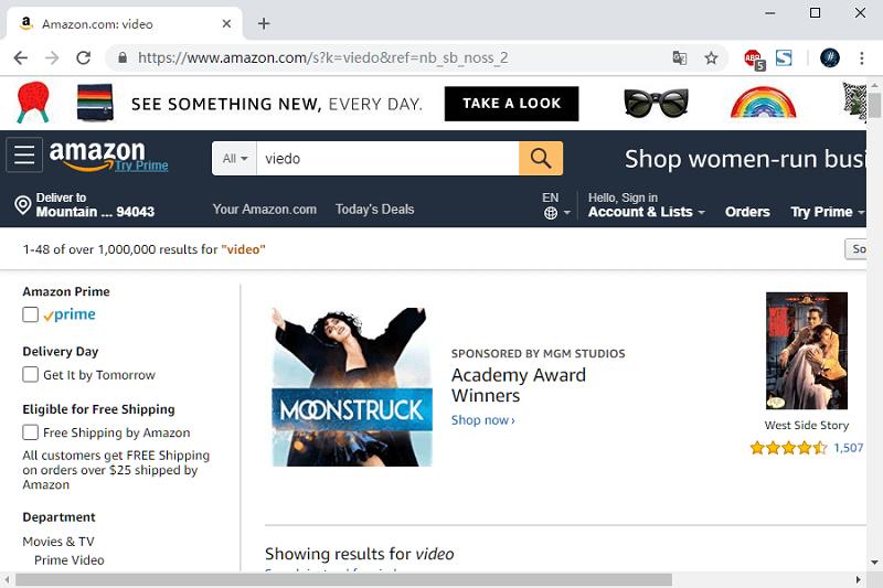 baixar filmes 4K com Amazon