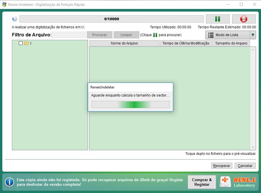 digitalizando os arquivos