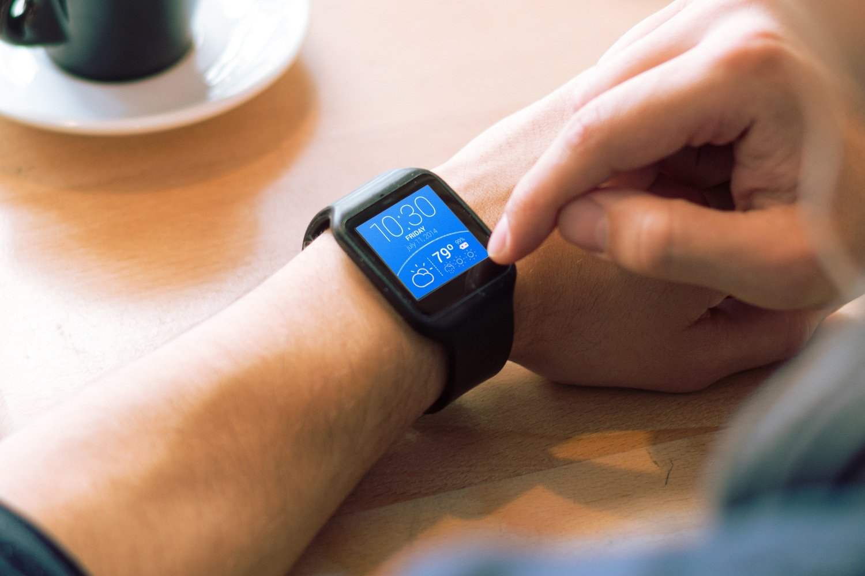 relógio inteligente de 5G