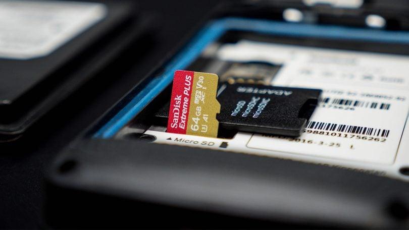formatar cartão SD