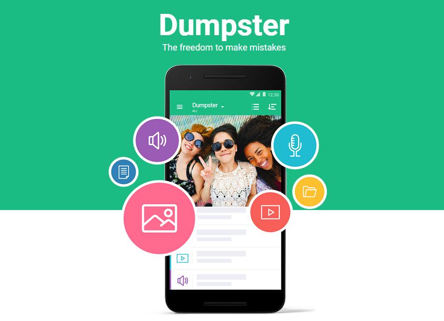 utilizar software Dumpster