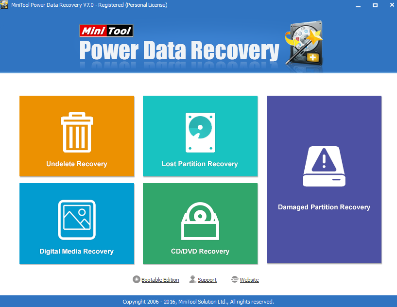 O software Power Data Recovery