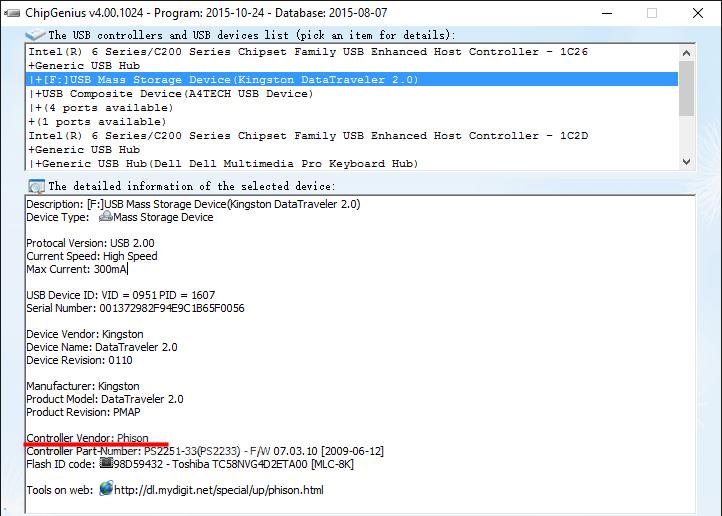 para formatar um pen drive criptografado
