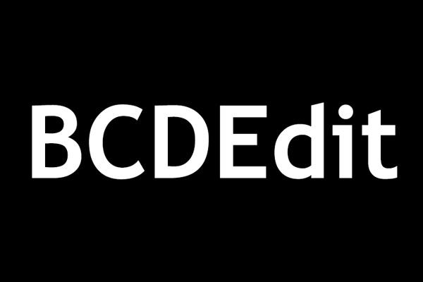 executar o comando BCDEdit