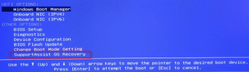 Como formatar notebook DELL com SupportAssist OS Recovery