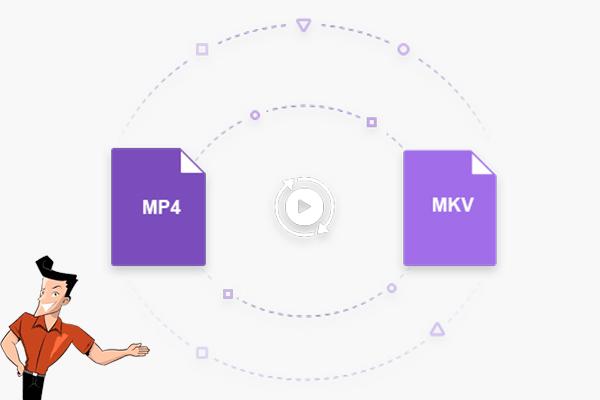 Converter MP4 para MKV