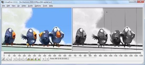 Programa Virtualdub para cortar vídeo