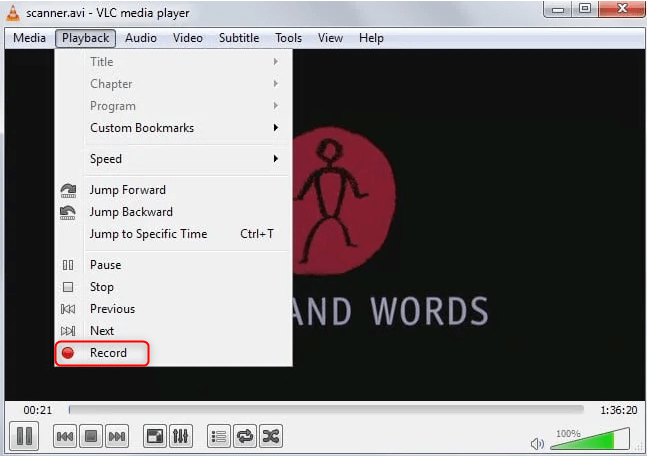 podemos cortar vídeo com o VLC?