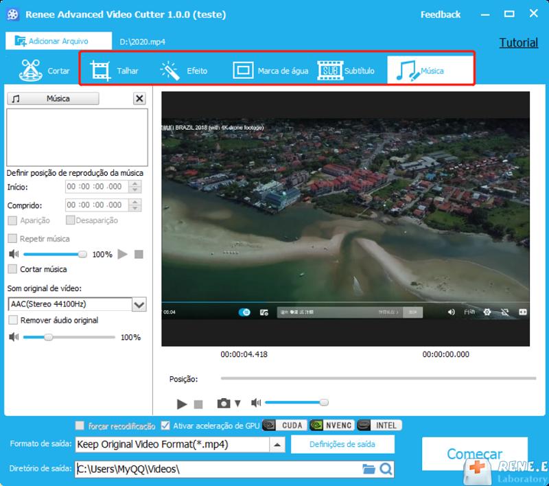editar vídeo com outras funções