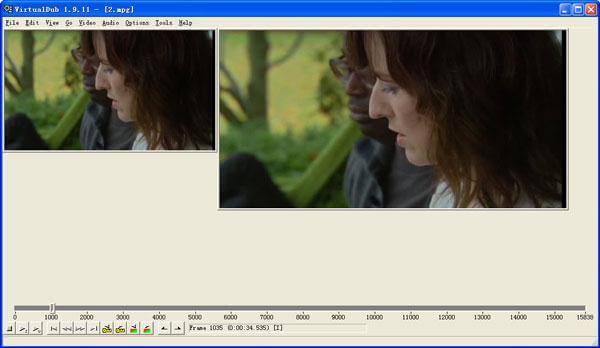 Virualdub é um software gratuito de edição de tela verde
