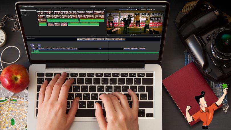 Como colocar dois vídeos lado a lado para fazer efeito de sobreposição de vídeo?