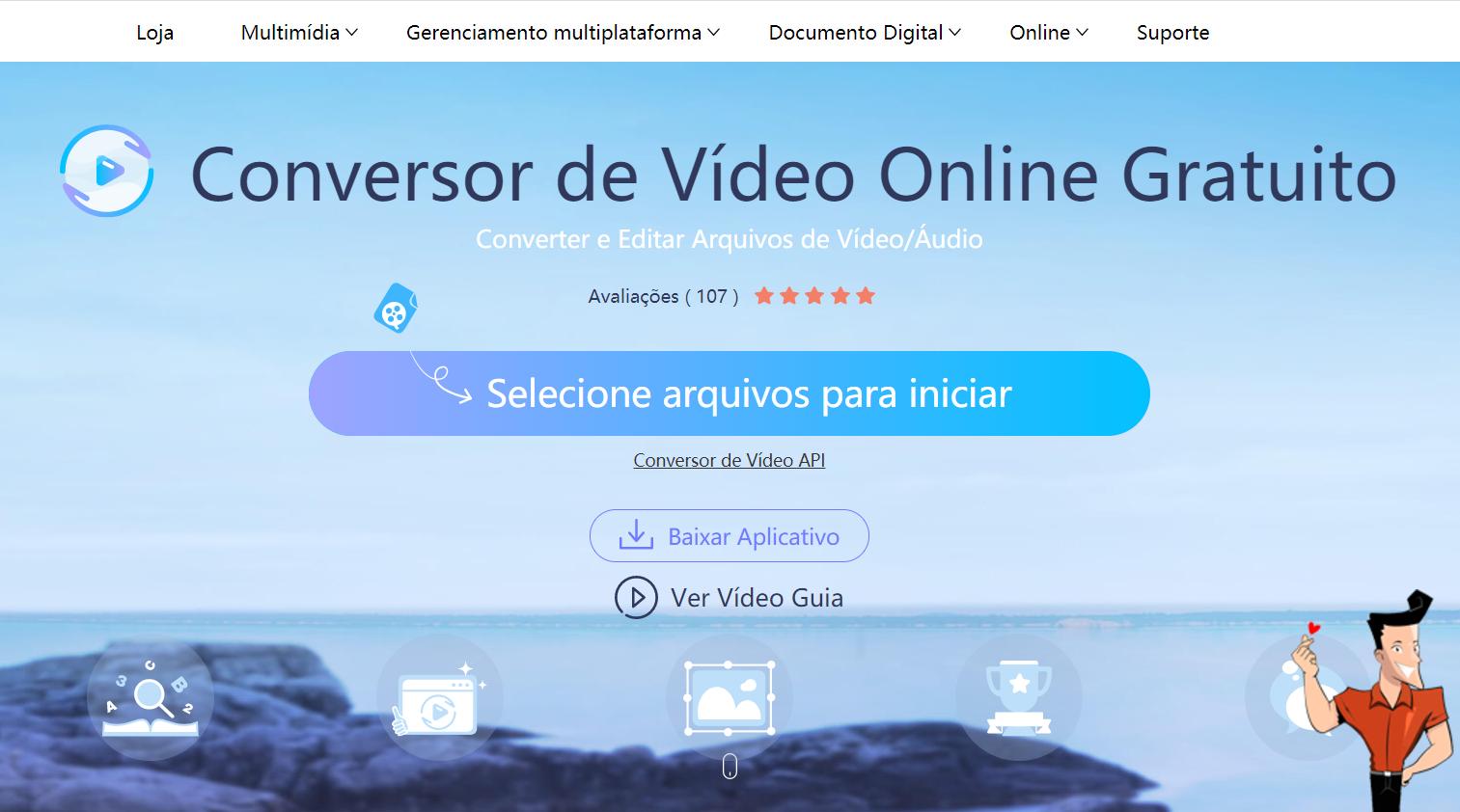 Converter vídeo de YouTube para áudio WAV