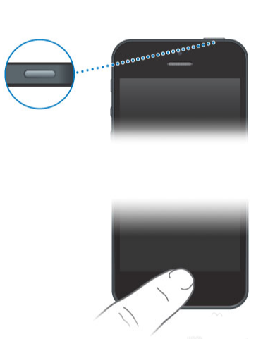 Passos para iPhone com o botão Início