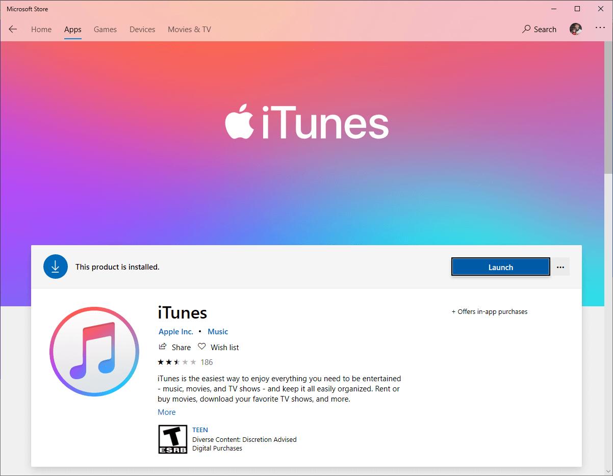 instale o iTunes