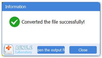 termine de converter o arquivo RMVB