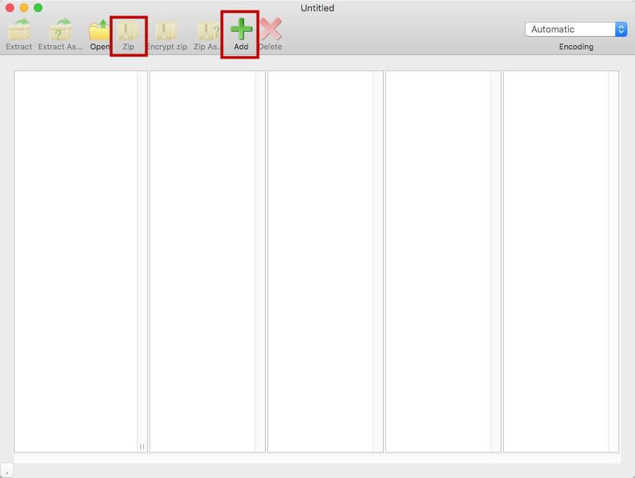 ajouter le fichier dans le logiciel RAR Sharp