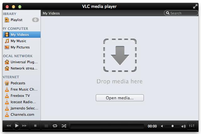 converter formato de vídeo com VLC no Mac