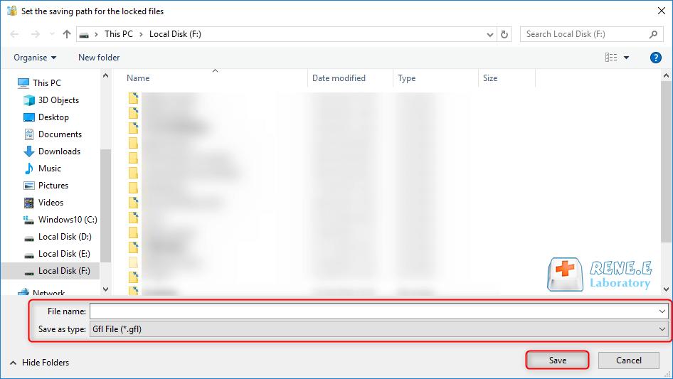 selecione o arquivo para criptografar