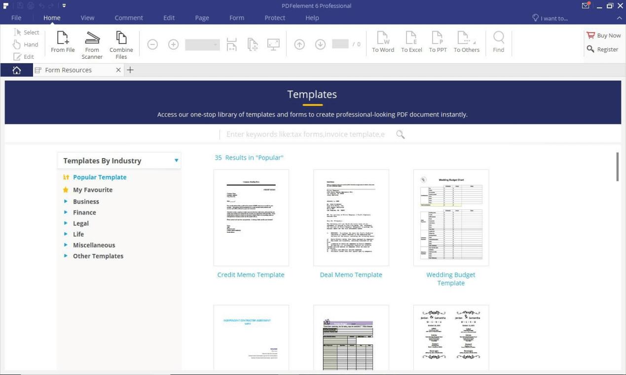 criptografar arquivo PDF com PDFelement